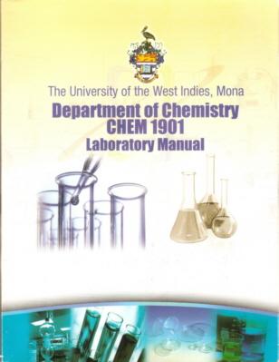 UWI-Mona, Chemistry Laboratory Manuals